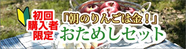 初回限定!りんごおためしセット