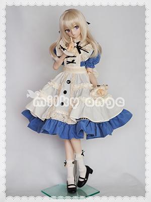 60cmドール用ドレス ロマンティックアリスメイド アリス6
